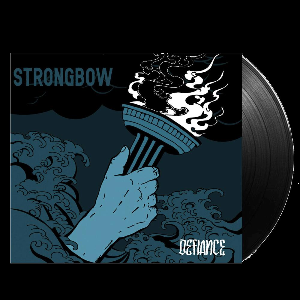 "Strongbow - ""Defiance"" 12""GF-LP lim.300 solid Black"