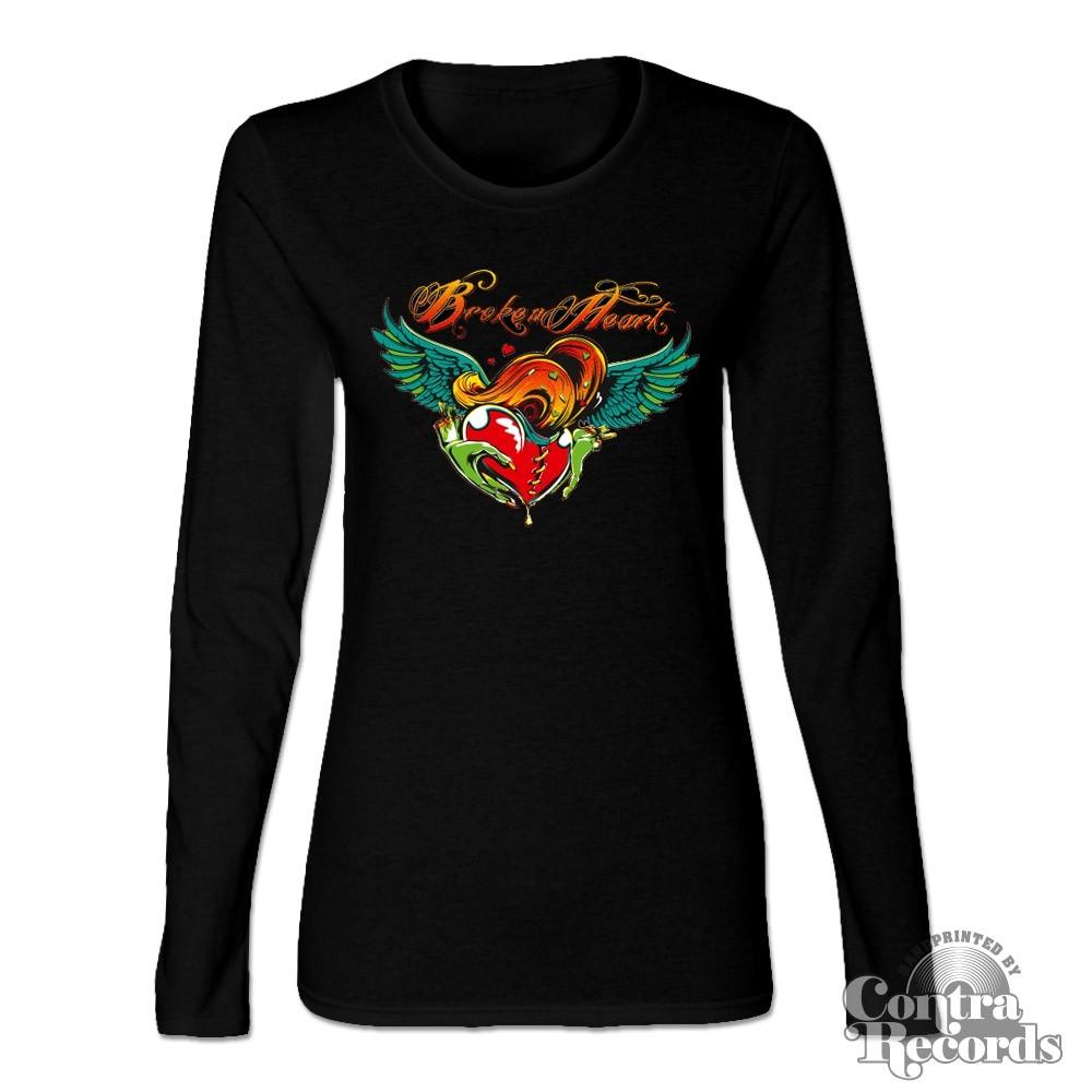 Broken Heart - Girl Sweater black