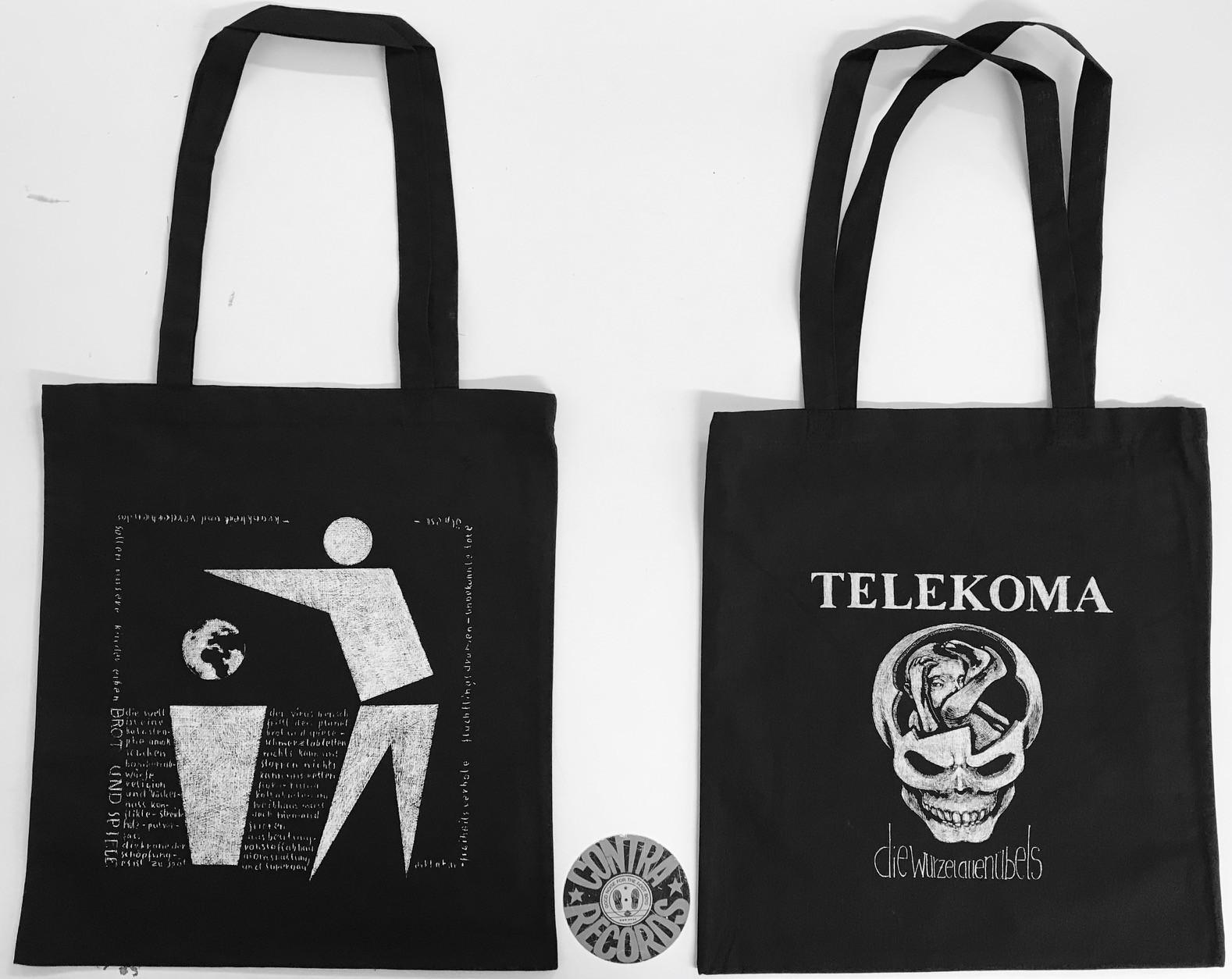 """Telekoma - Die Wurzel allen Übels Beutel - """"Brot Und Spiele"""""""