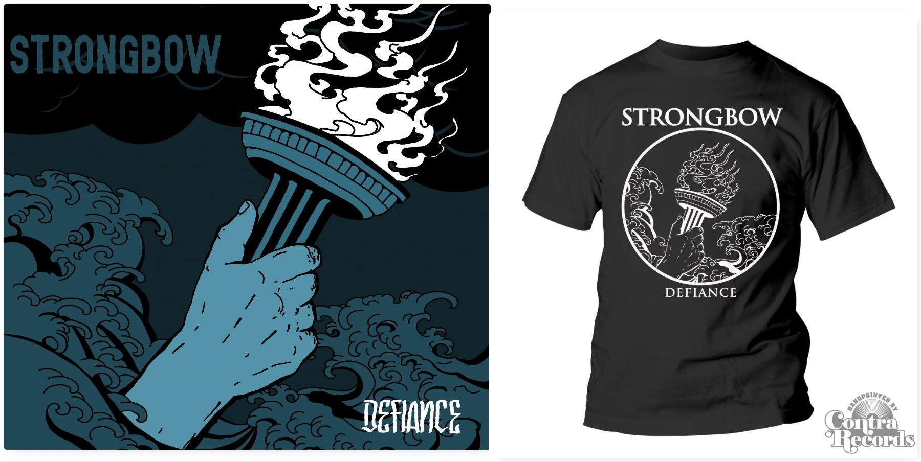 "Strongbow - ""Defiance"" #package CD+T-Shirt (PRE ORDER)"