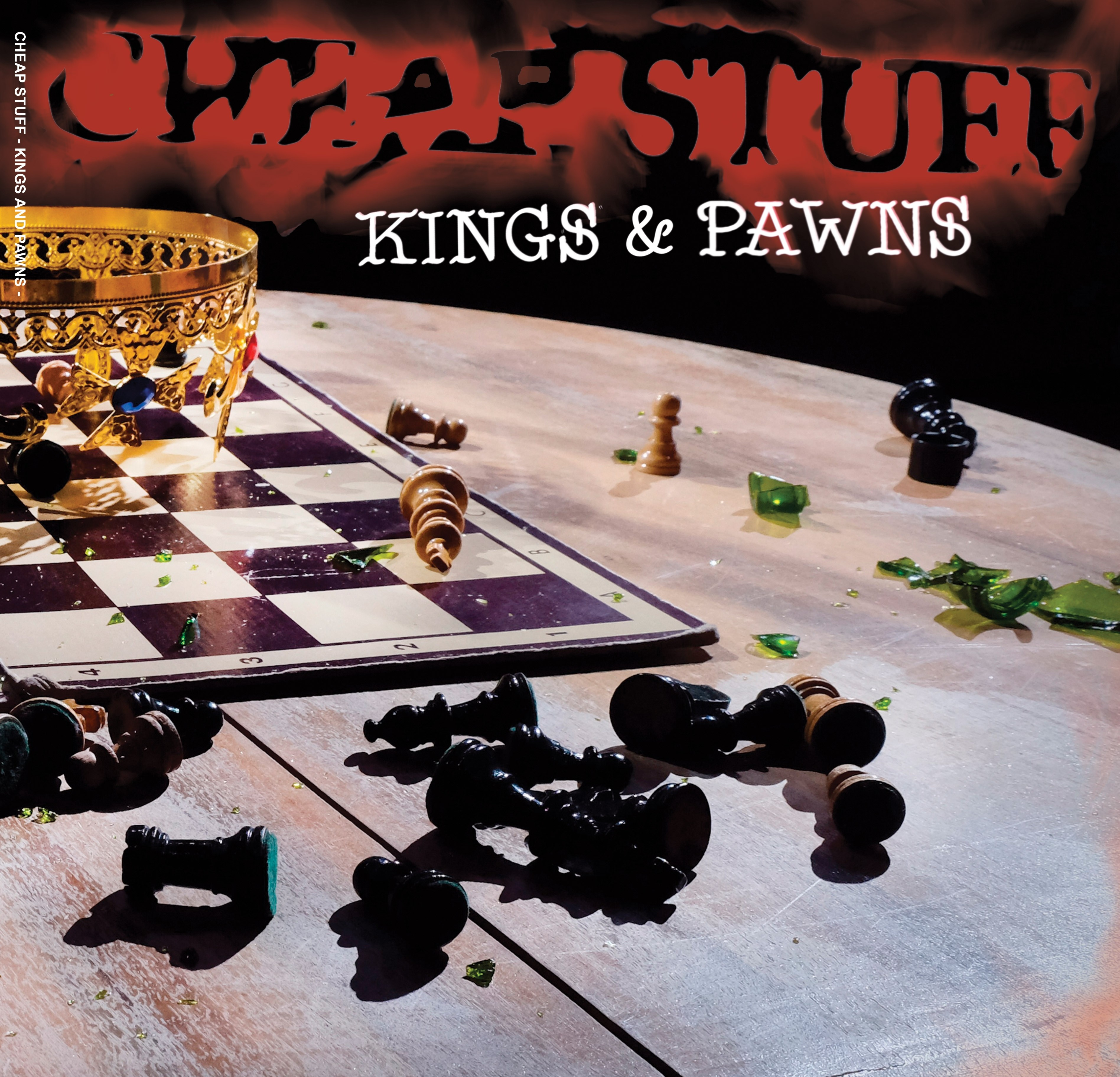 "Cheap Stuff - ""Kings And Pawns"" 12""GF-LP lim.300 splatter incl. download"