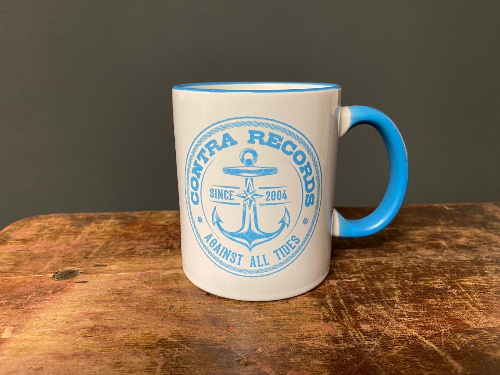 "Contra Records - ""Anchor new"" - Tasse/Mug"