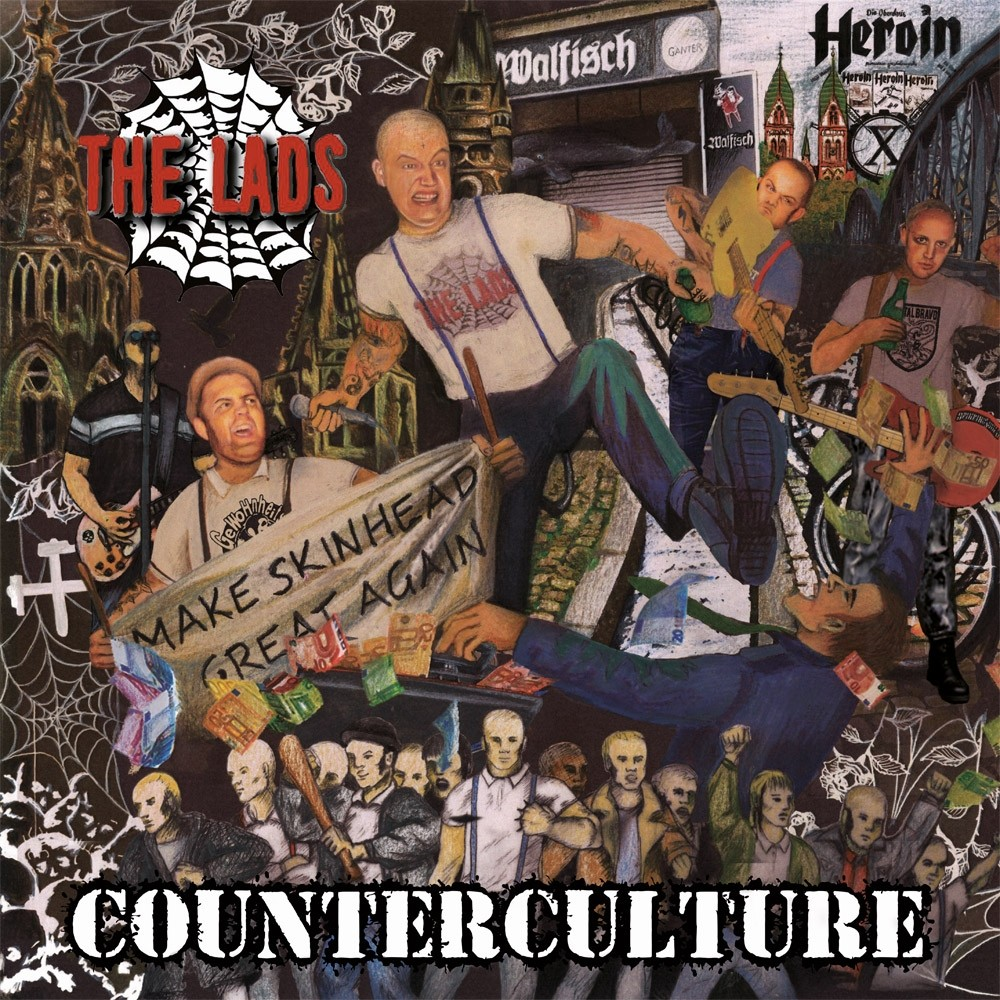 """The Lads - Counterculture 12""""LP lim.200 red"""