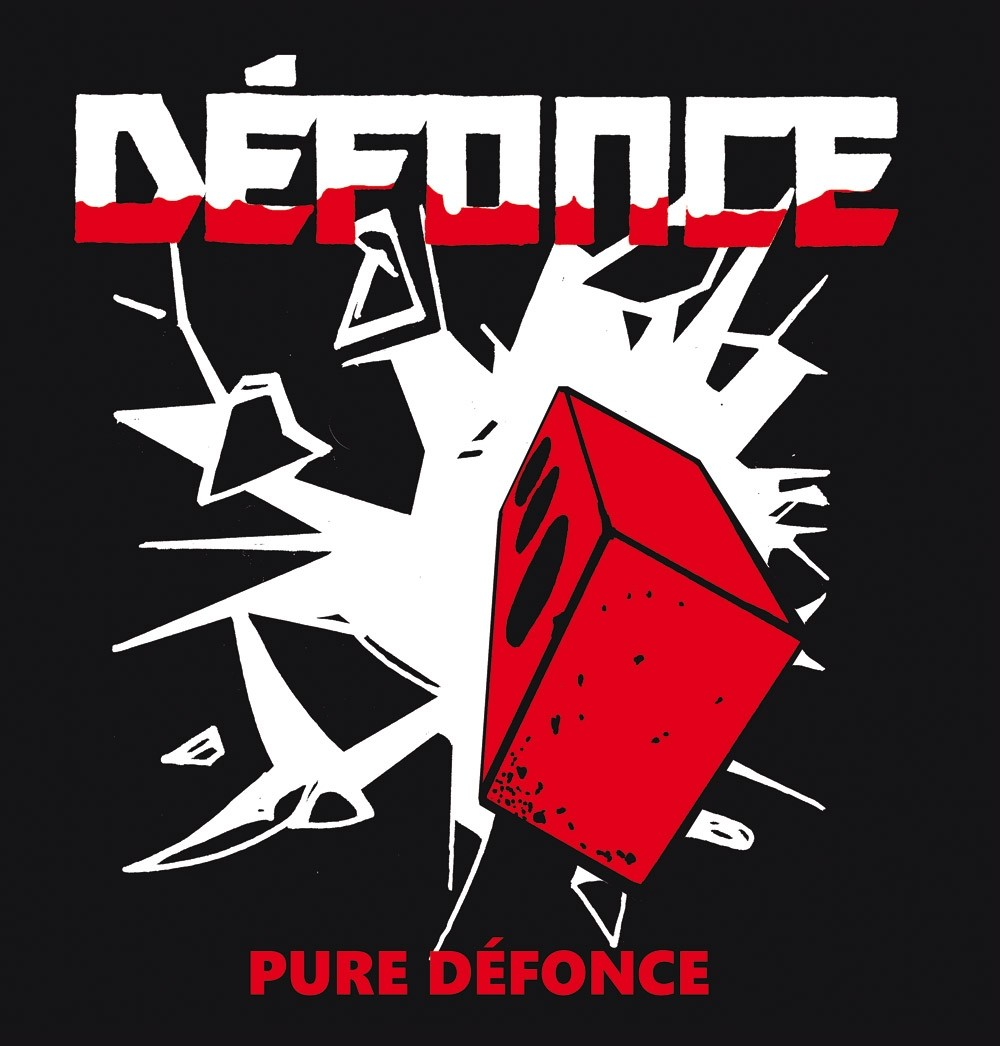 "Defonce - ""pure defonce"" 12""LP lim.110 red"