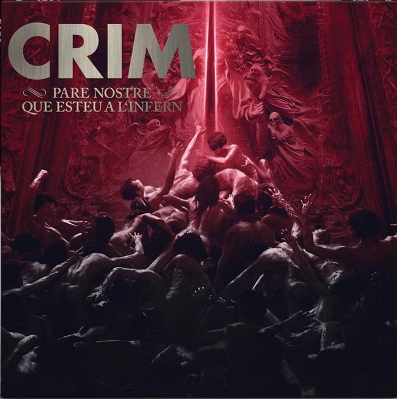 """Crim - """"Pare Nostre Que Esteu a l'Infern"""" 12""""GF-LP lim.100 black"""