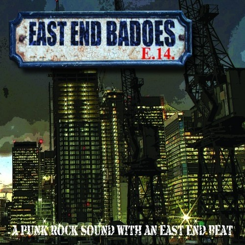 """EAST END BADOES - A Punk Rock Sound With An East End Beat 12""""LP lim. 200 red"""