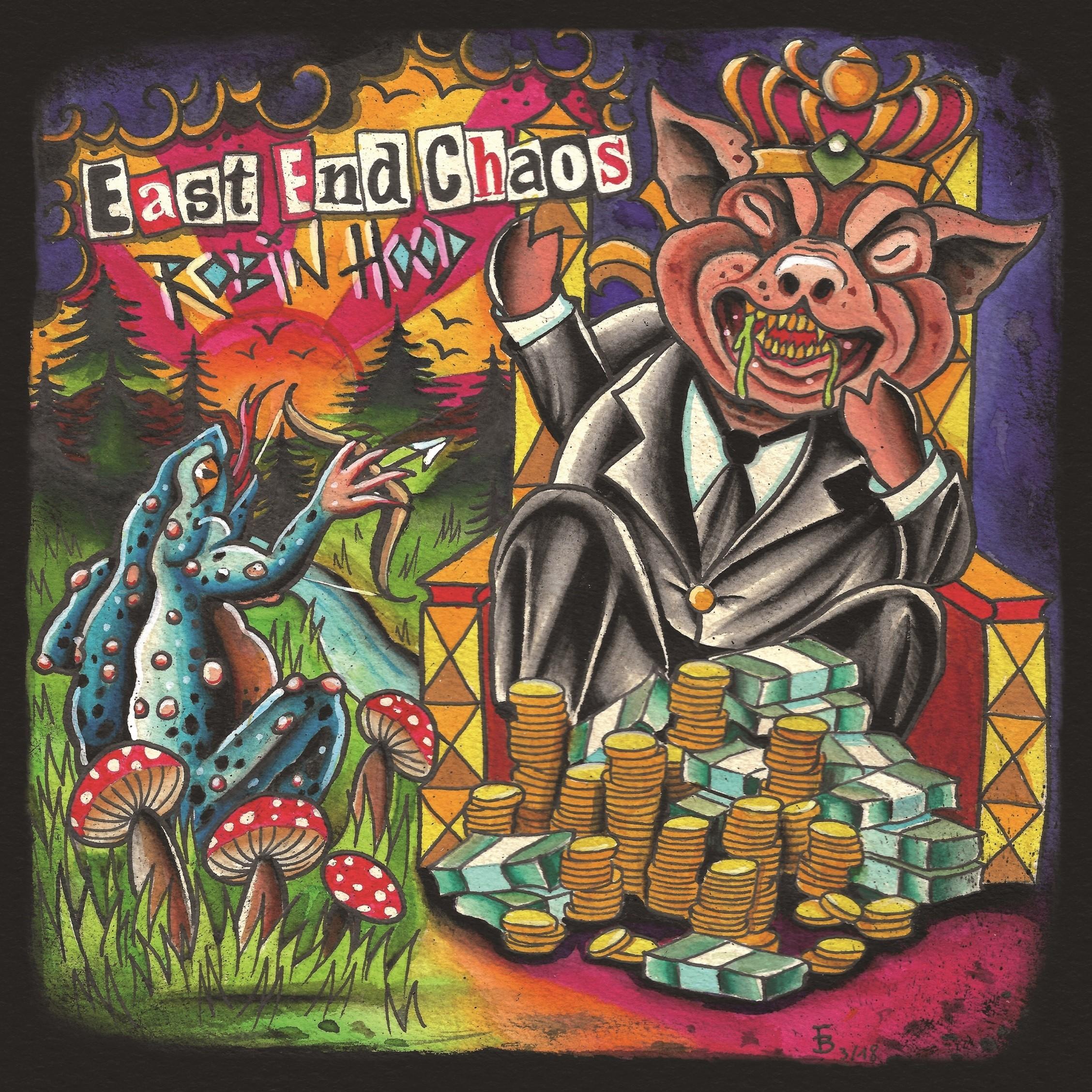"East End Chaos - ""Robin Hood"" 7""EP lim.200 black"