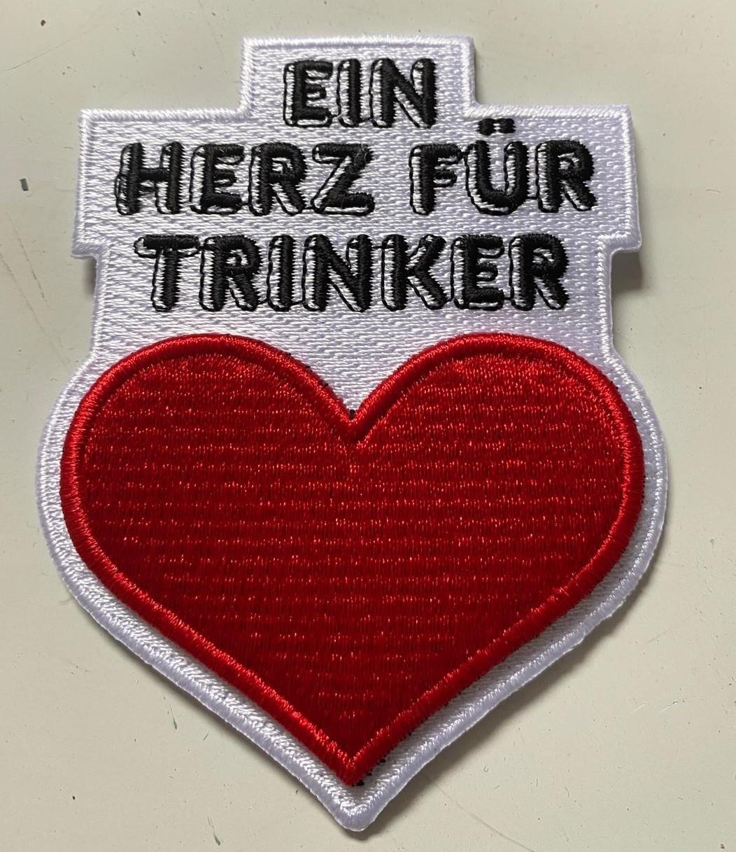 """Patch - Gewohnheitstrinker  - """"Ein Herz Für Trinker"""""""