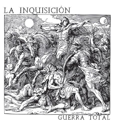"""La Inquisicion - """"Guerra Total"""" 2x7""""Gatefold-EP (col. vinyl)"""
