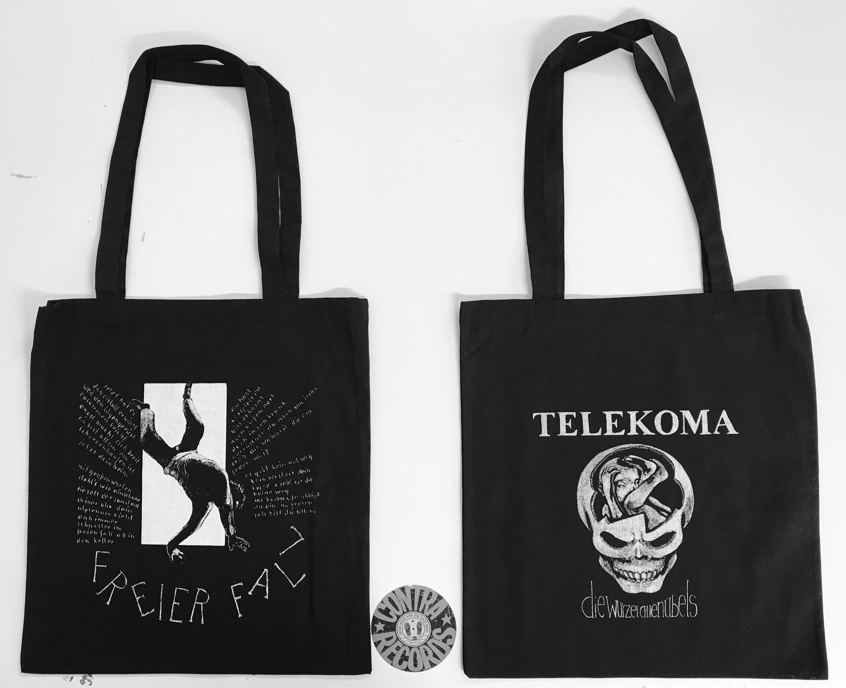 """Telekoma - Die Wurzel allen Übels Beutel - """"Freier Fall"""""""