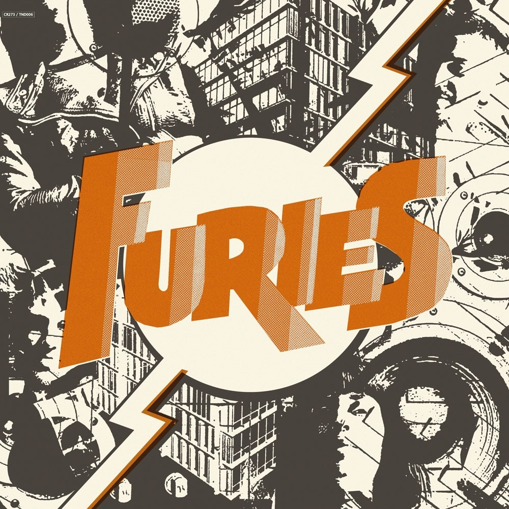"Furies - s/t 12""LP lim.300 black incl.56mm Button"