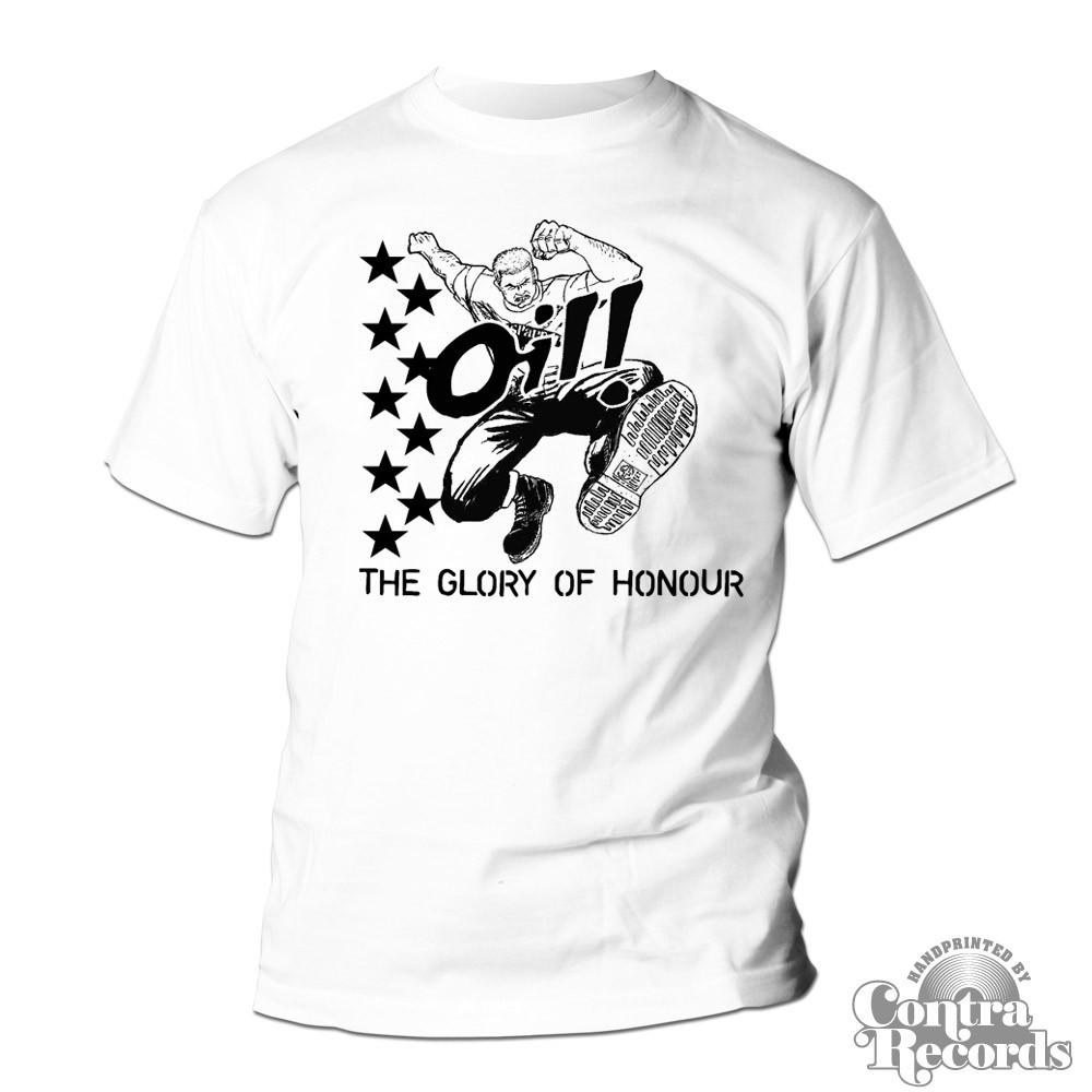 "Oil! ""The Glory Of Honour"" - T-Shirt white"