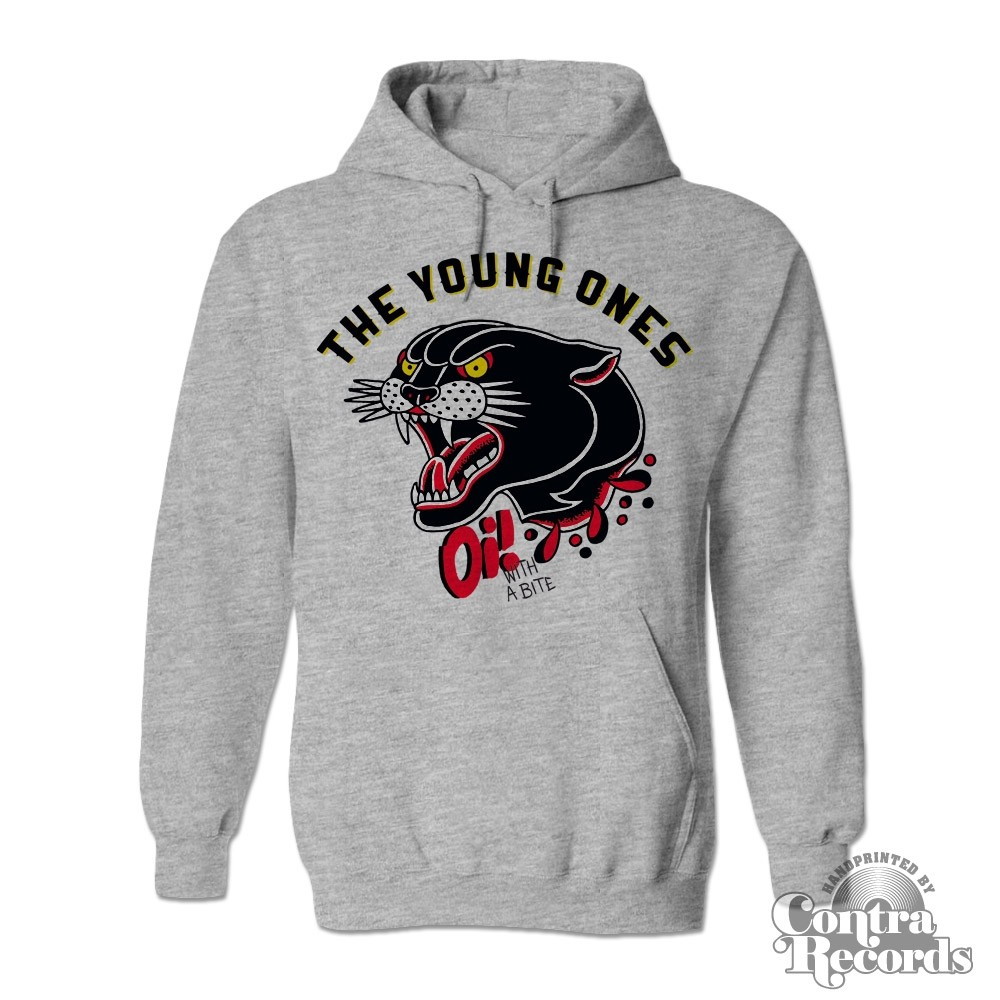 "Young Ones,The - ""Oi! With A Bite"" Hoody grey"