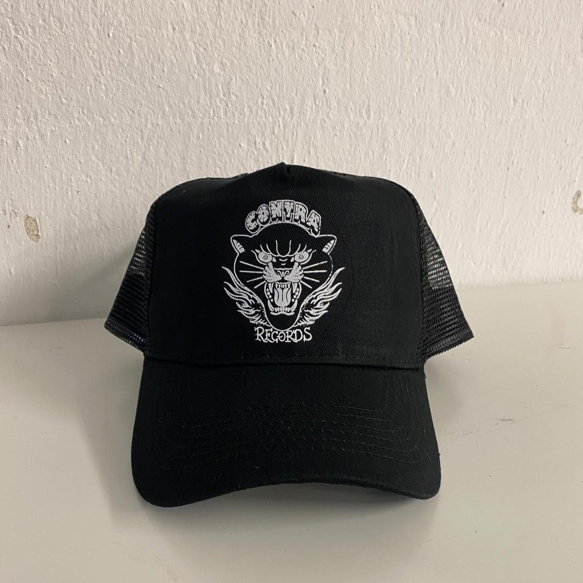 "Contra Records ""Black Panther"" - Trucker Cap black"