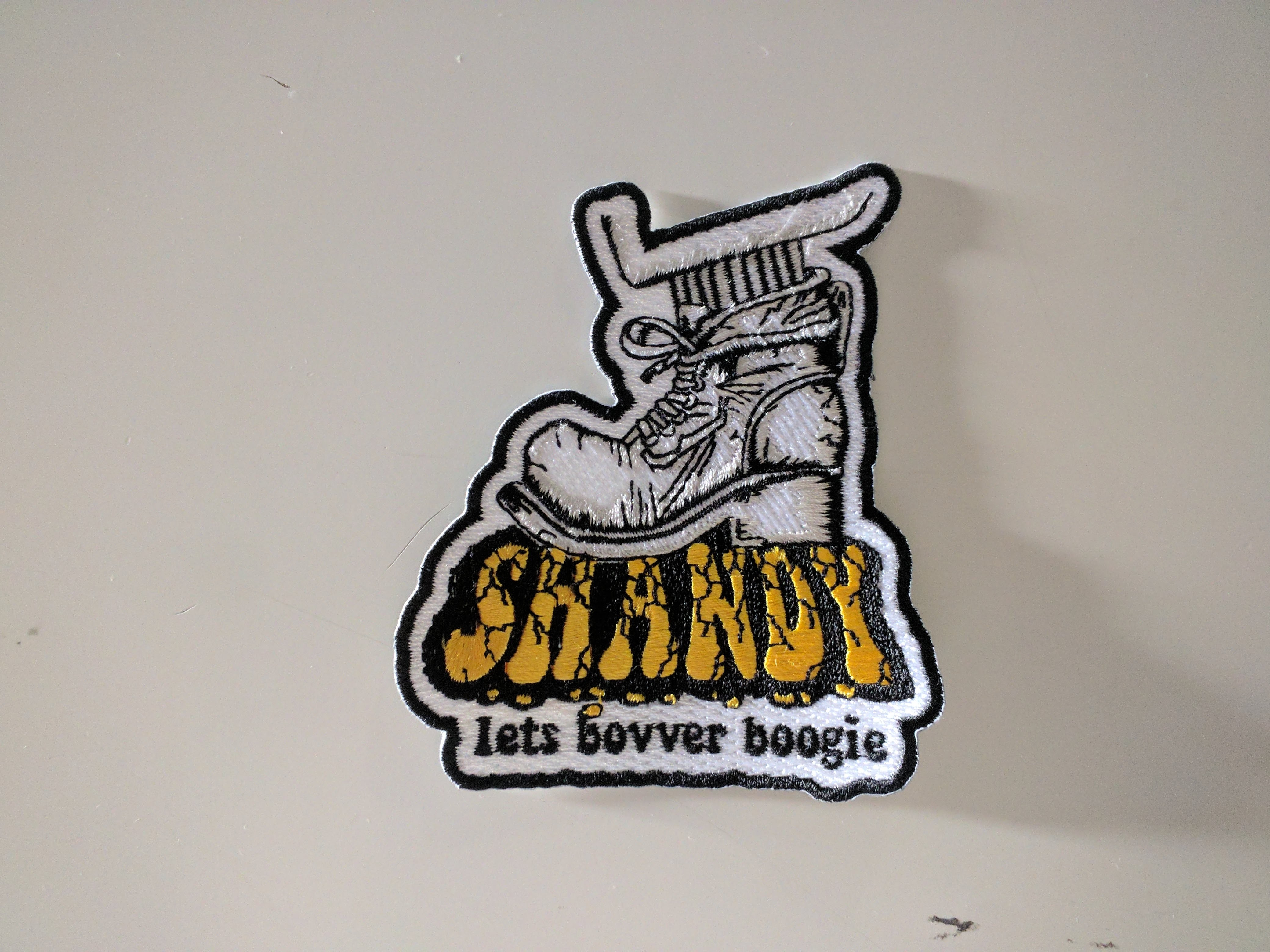 "Patch - Shandy ""let's bovver boogie"""