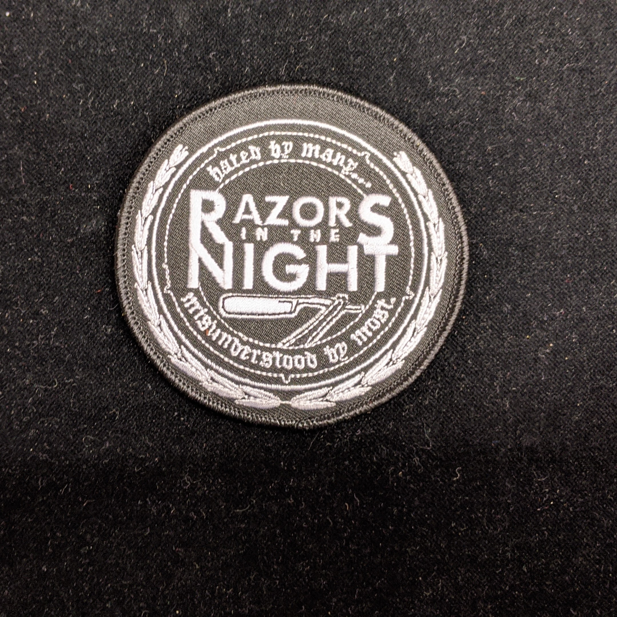 Razors In The Night - Patch