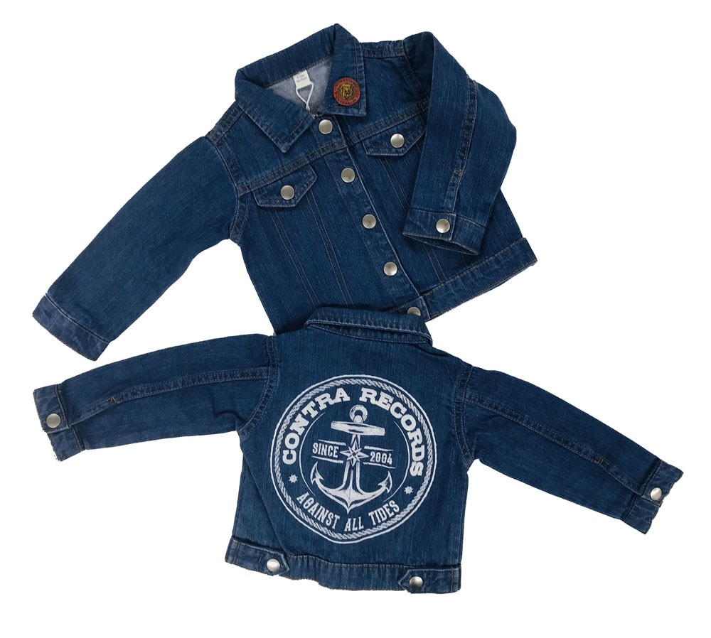 "Contra Records ""Anchor"" Kids Jeansjacket"
