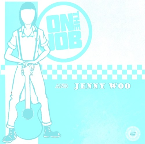 V/A On the Job/ Jenny Woo - Split 7'EP lim.250 swedish Color