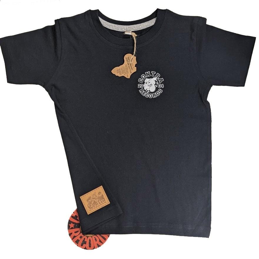 "Contra Kids Wear - ""Bulldog 2004"" - Kids Shirt black"