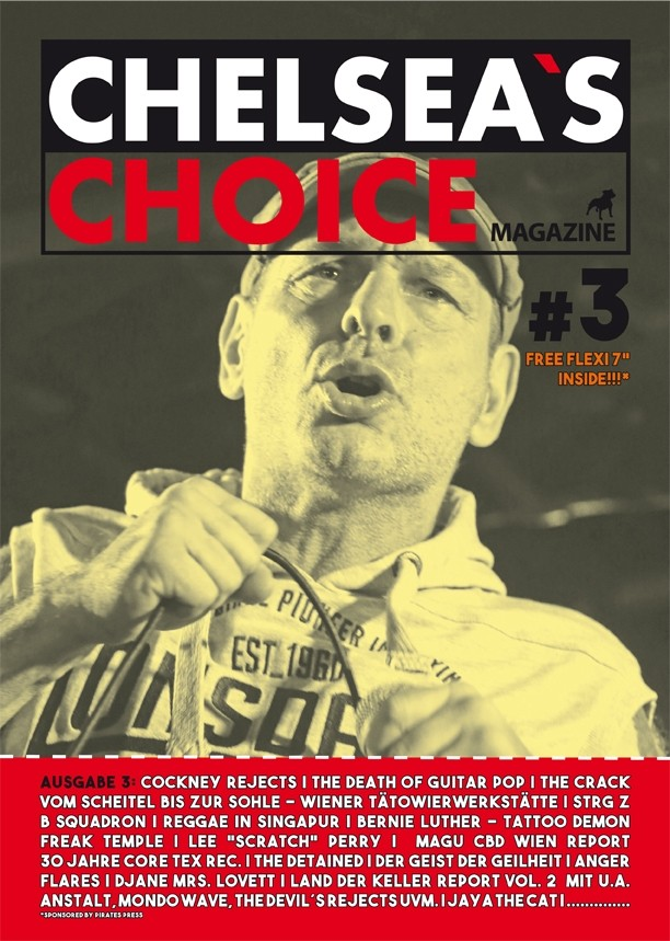"Chelsea`s Choice Magazine #3 INCL. FREE FLEXI 7"" by THE TERRITORIES"