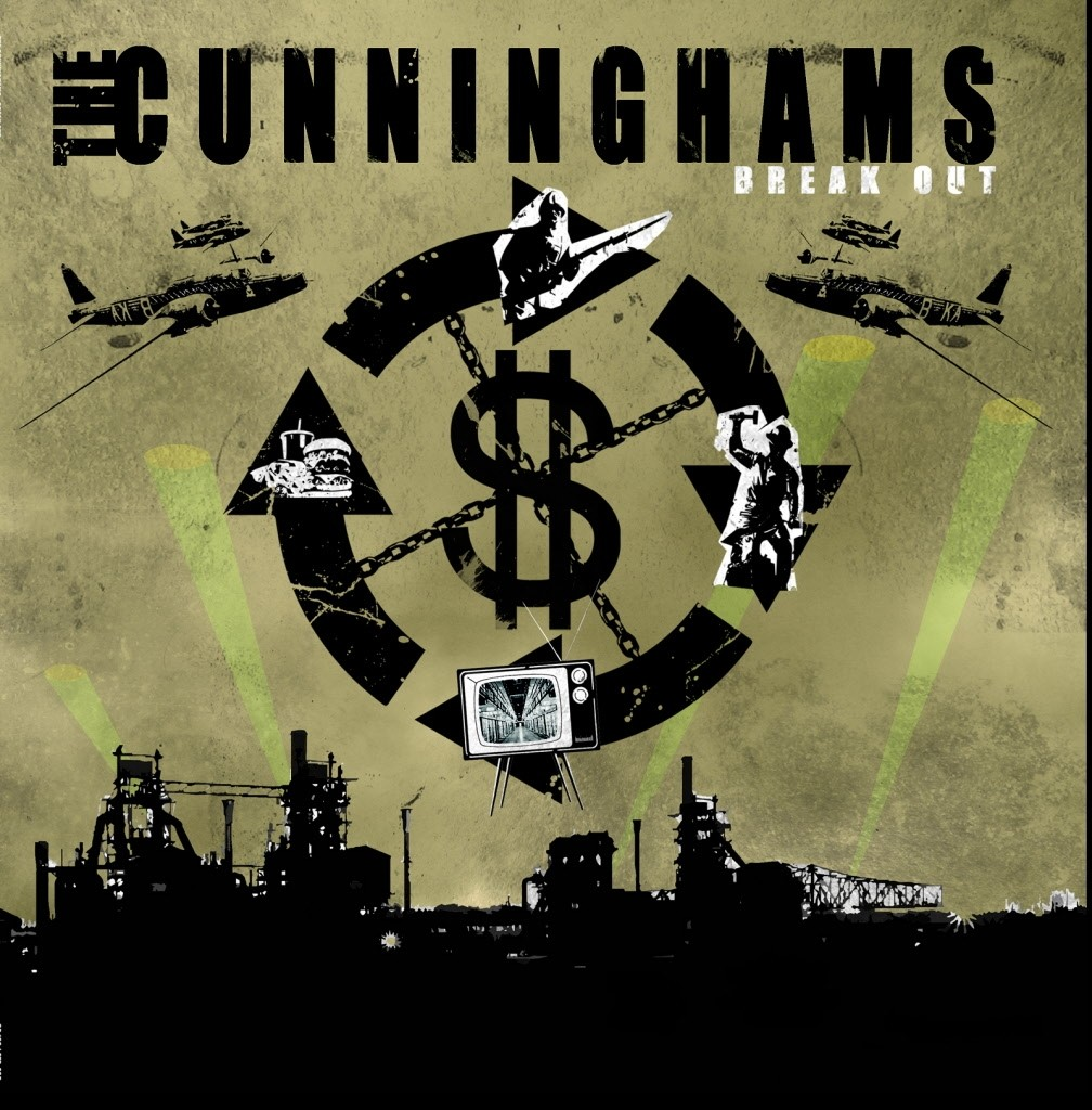 "CUNNINGHAMS, THE - BREAK OUT 12""LP lim.150 black"