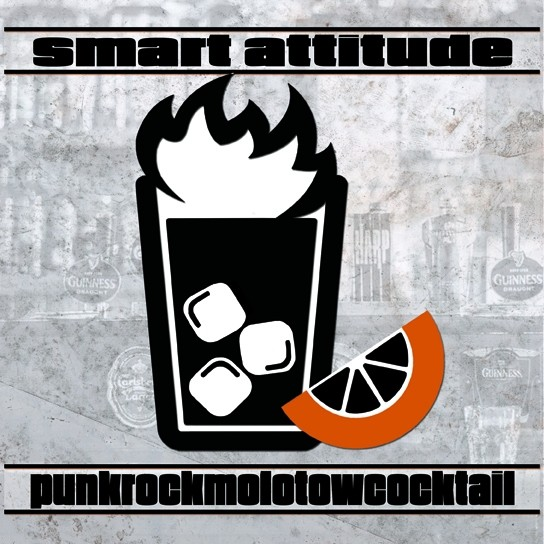 "Smart Attitude – Punkrockmolotowcocktail 7""EP lim.100 red incl download"