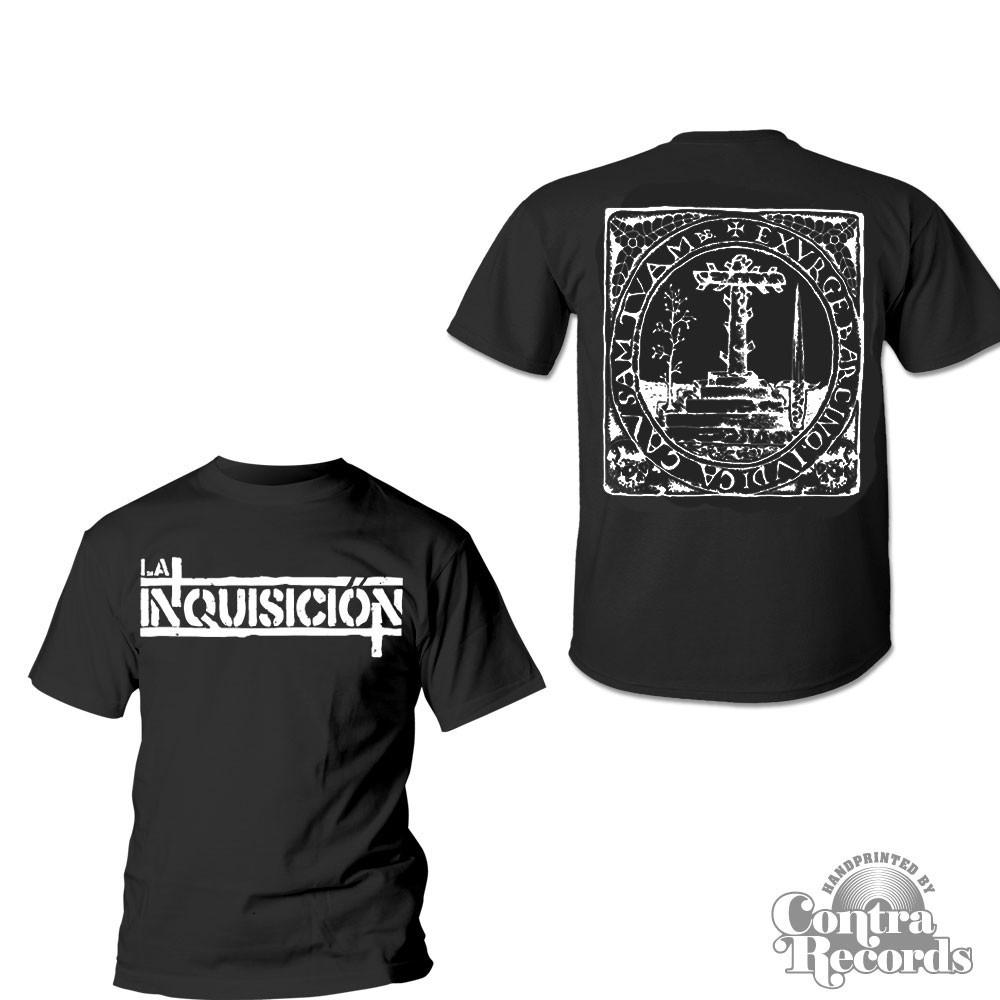 LA INQUISICIÓN - BARCINO T-Shirt black front/backprint