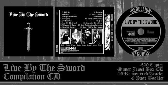 Live By The Sword - s/t CD lim 500 super jewel box