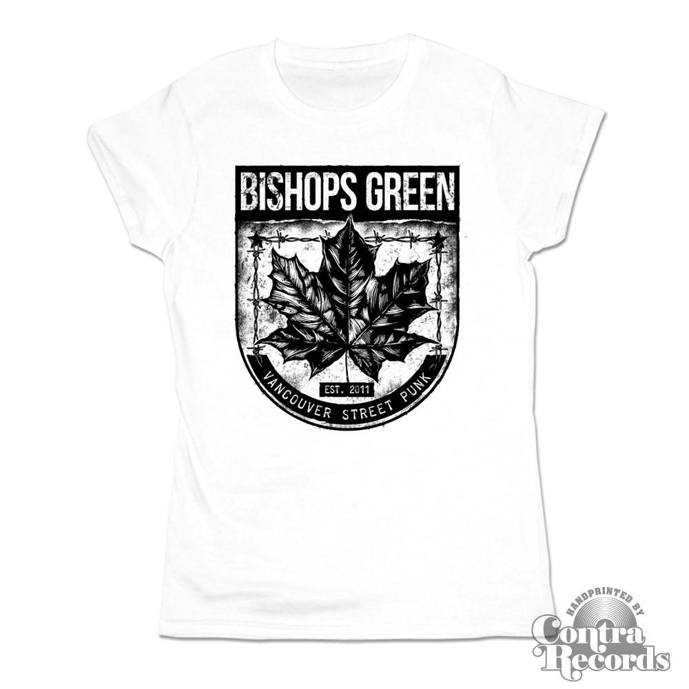 "Bishops Green - ""Leaf"" - Girl Shirt white"