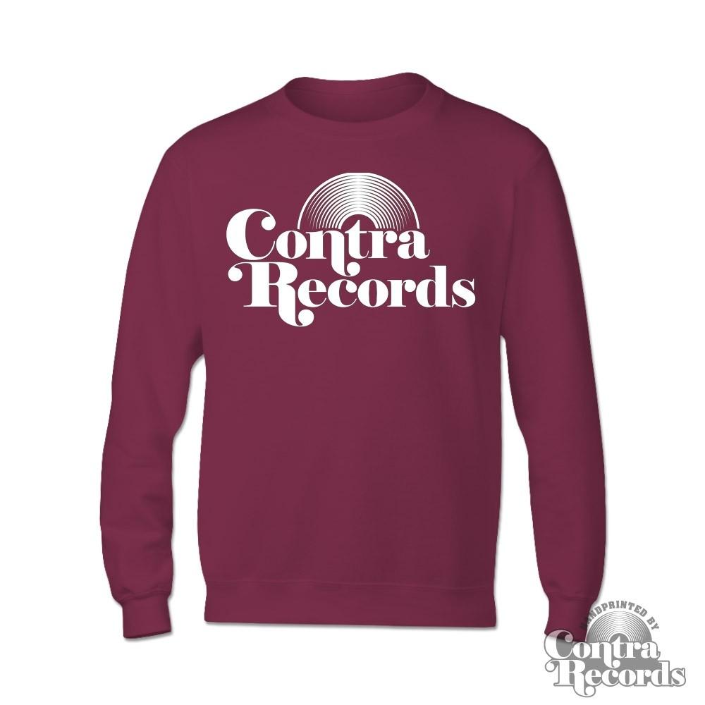 Contra - Vinyl - Longsleeve Shirt (Oxblood)
