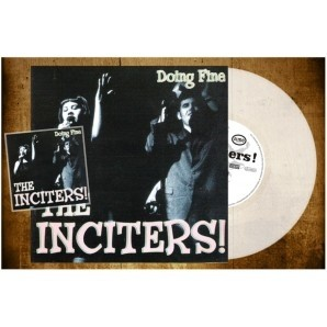 "Inciters,the - Doing Fine 12""LP+CD lim.250 clear transparent"