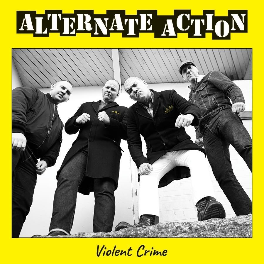 """Alternate Action - """"Violent crime"""" 10""""MLP lim. 300 black"""
