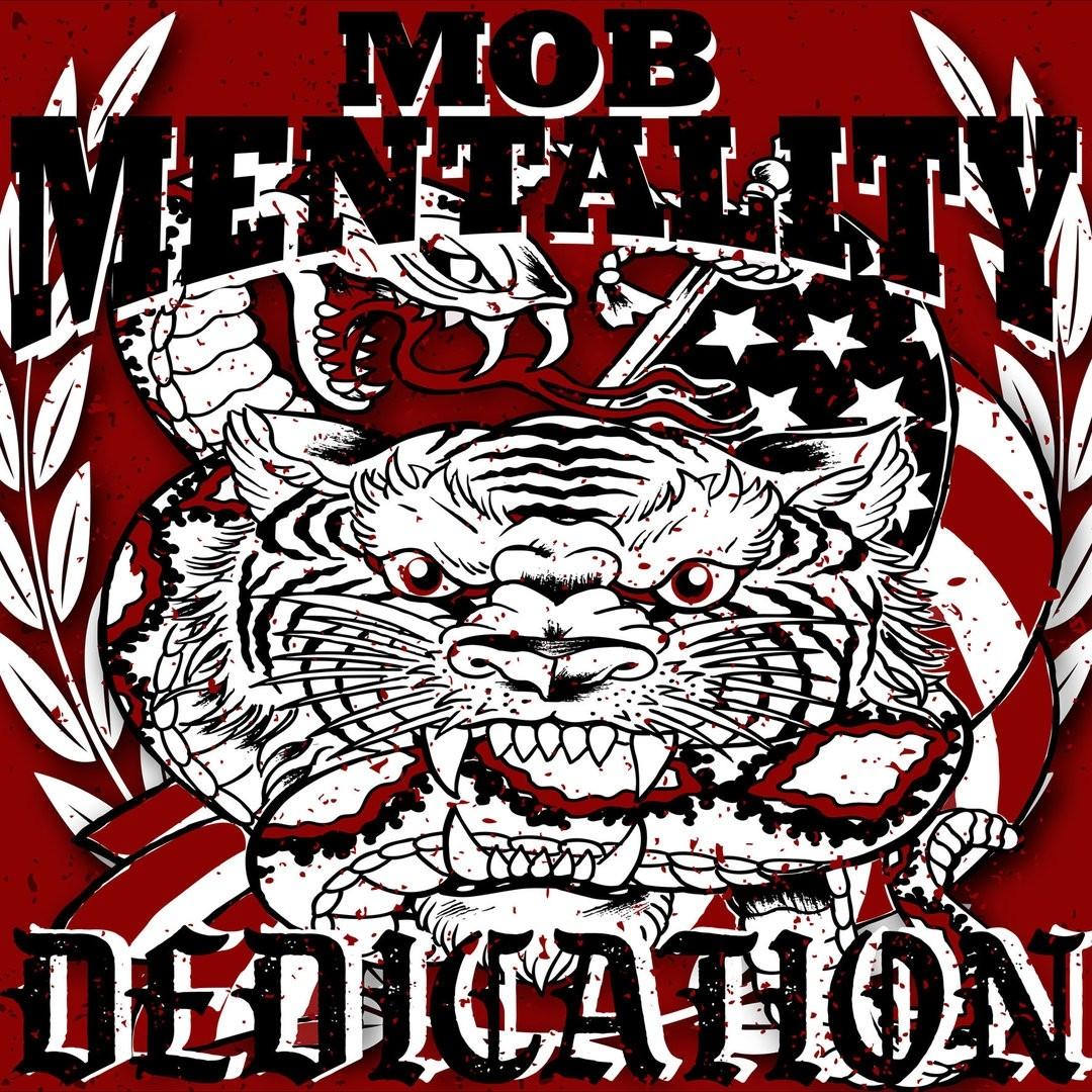 "Mob Mentality - Dedication 12""LP+download lim.200 red"