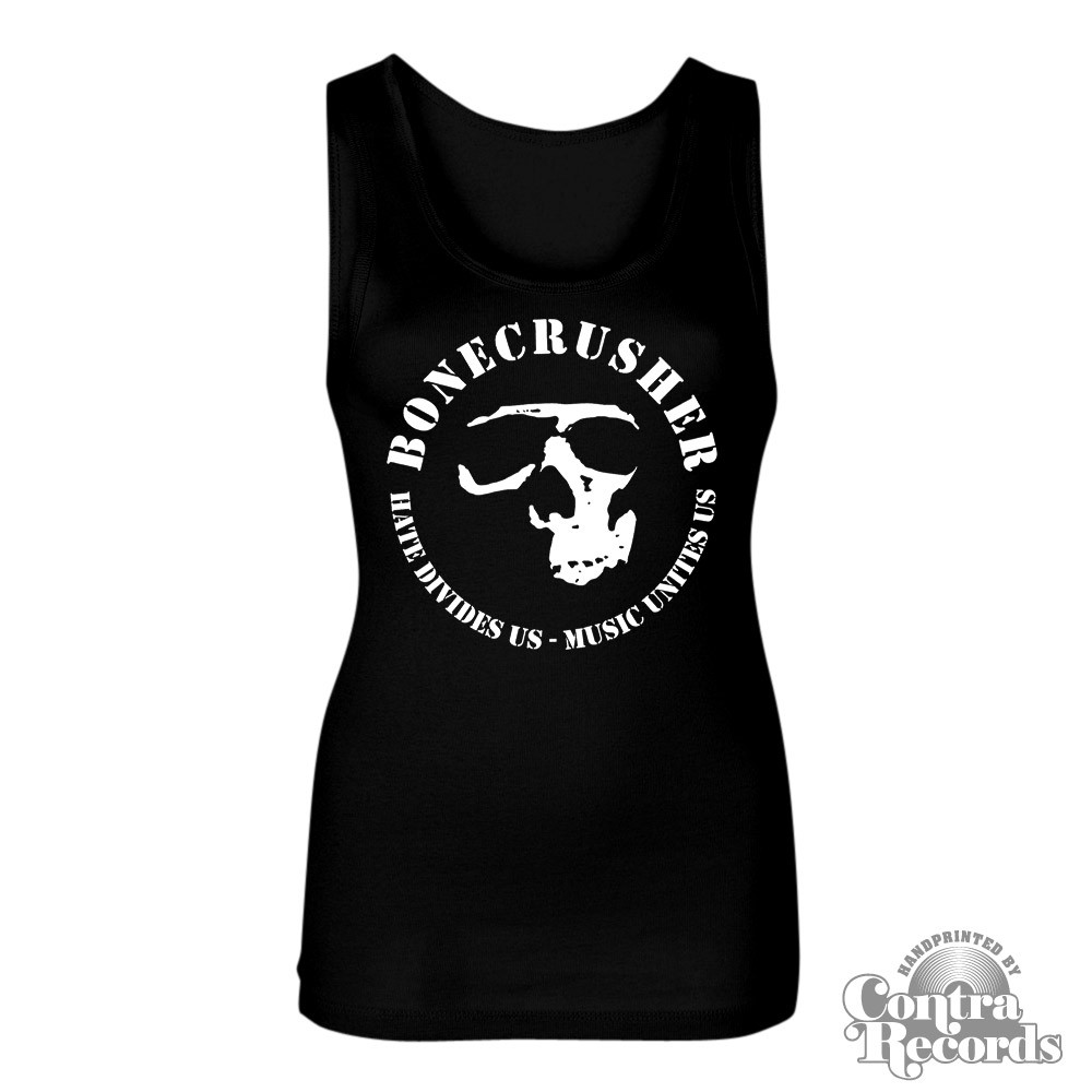 "Bonecrusher - ""music unites us"" - Girl Tanktop"