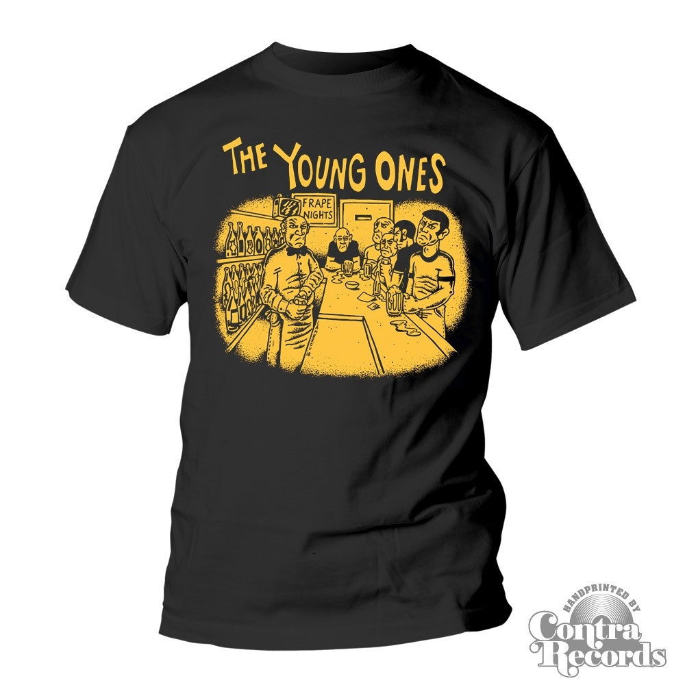 "Young Ones,The - ""Frape Nights"" T-Shirt black"