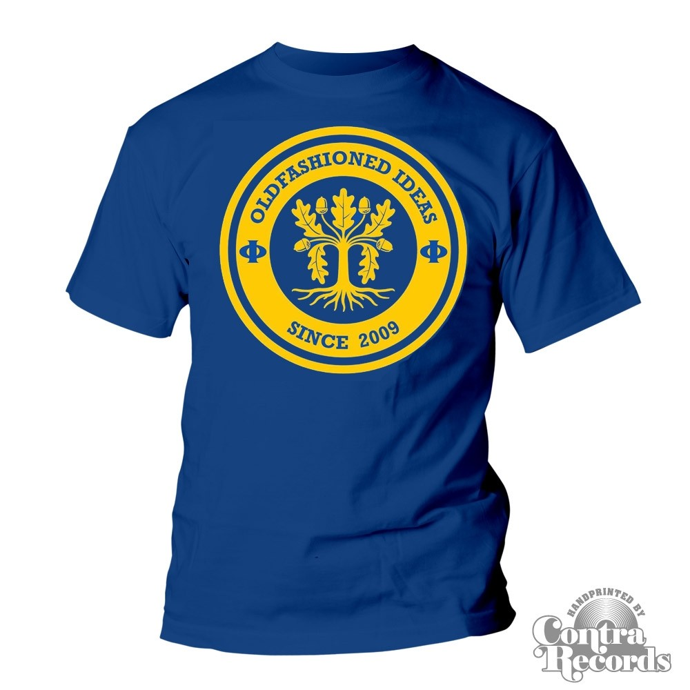 "Oldfashioned Ideas - ""oak"" T-Shirt royal blue (PRE ORDER)"