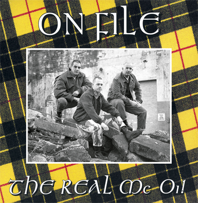 "On File - ""The Real Mc Oi!"" 12""LP lim.400 black"