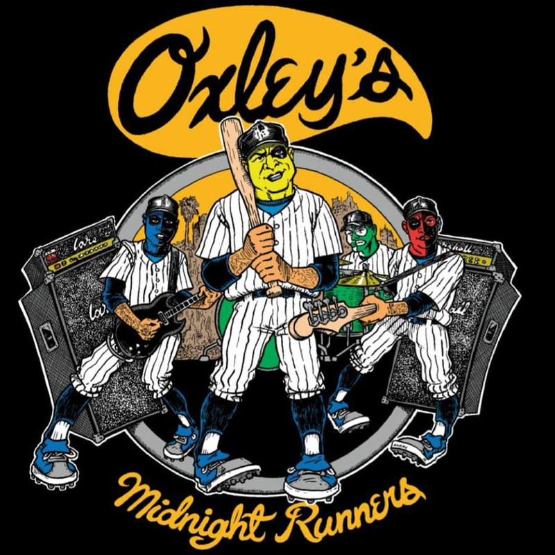 """Oxley's Midnight Runners - """"Furies"""" 7""""EP lim. yellow"""