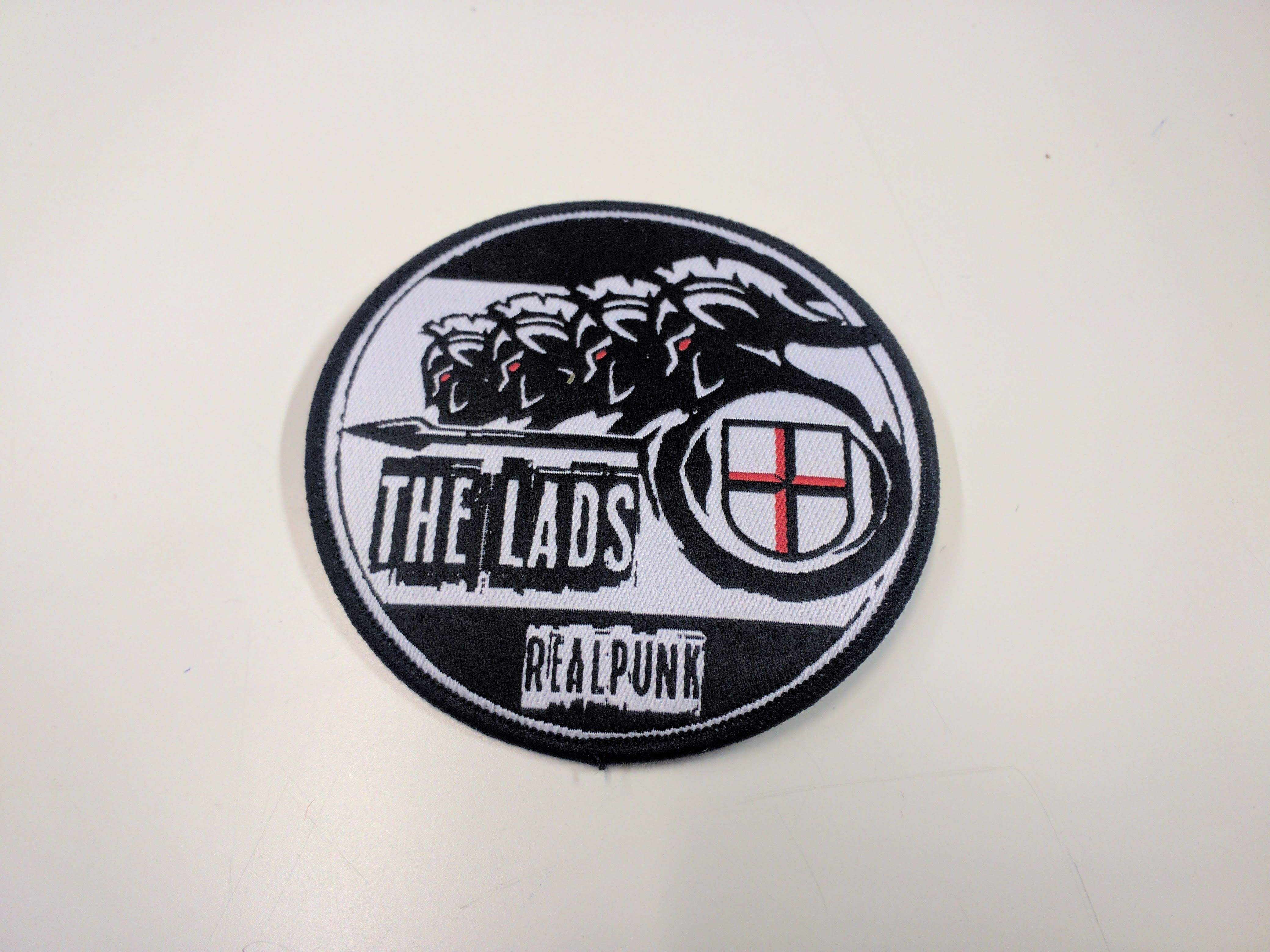 "Patch - The Lads - ""Realpunk"""