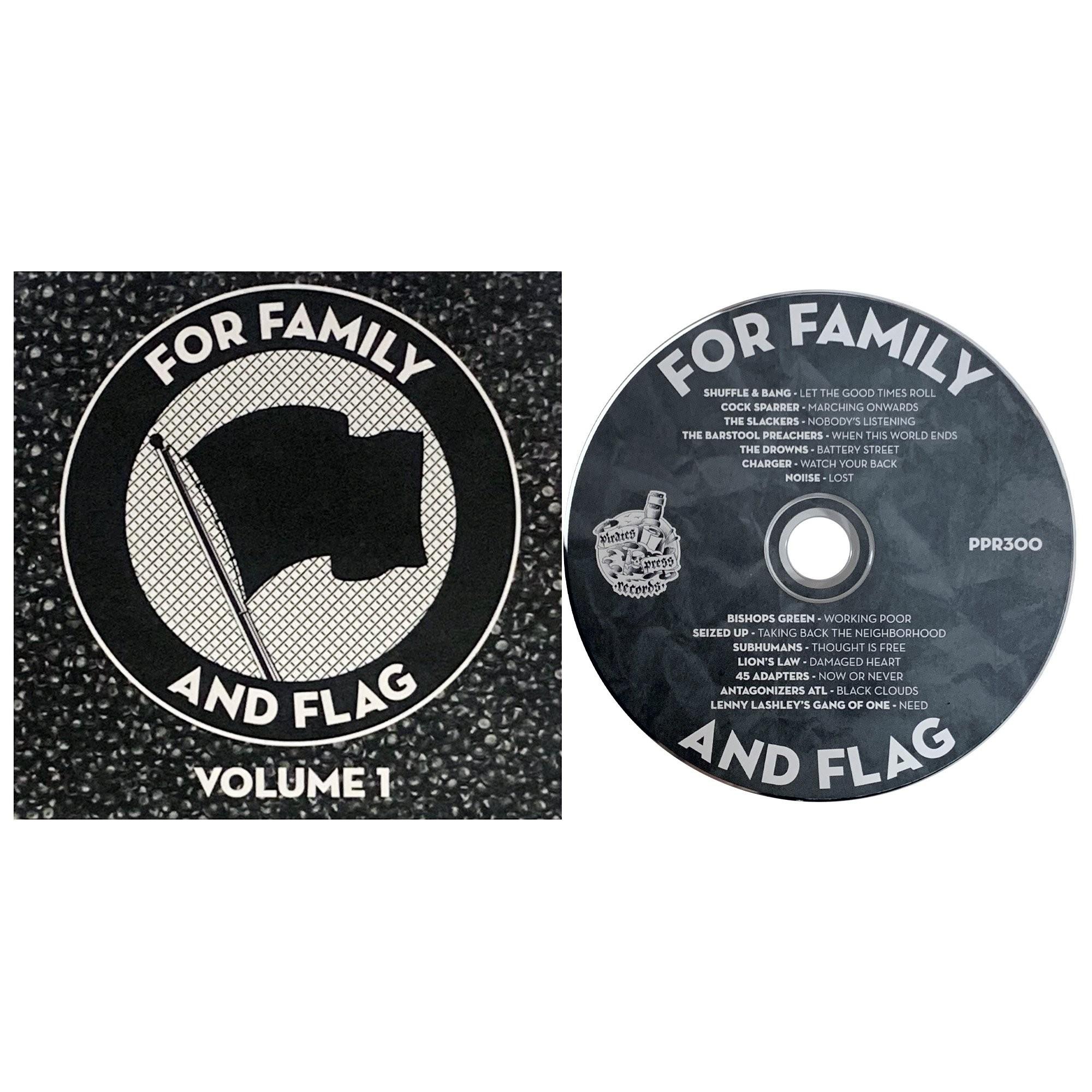 V/A FOR FAMILY AND FLAG VOL. 1 CD