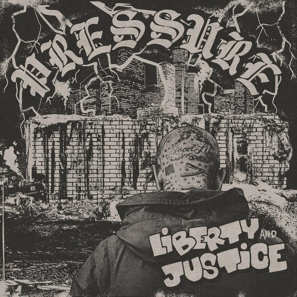 """Liberty & Justice - """"Pressure"""" - 12""""LP lim. 200 grey swirl (PRE ORDER)"""