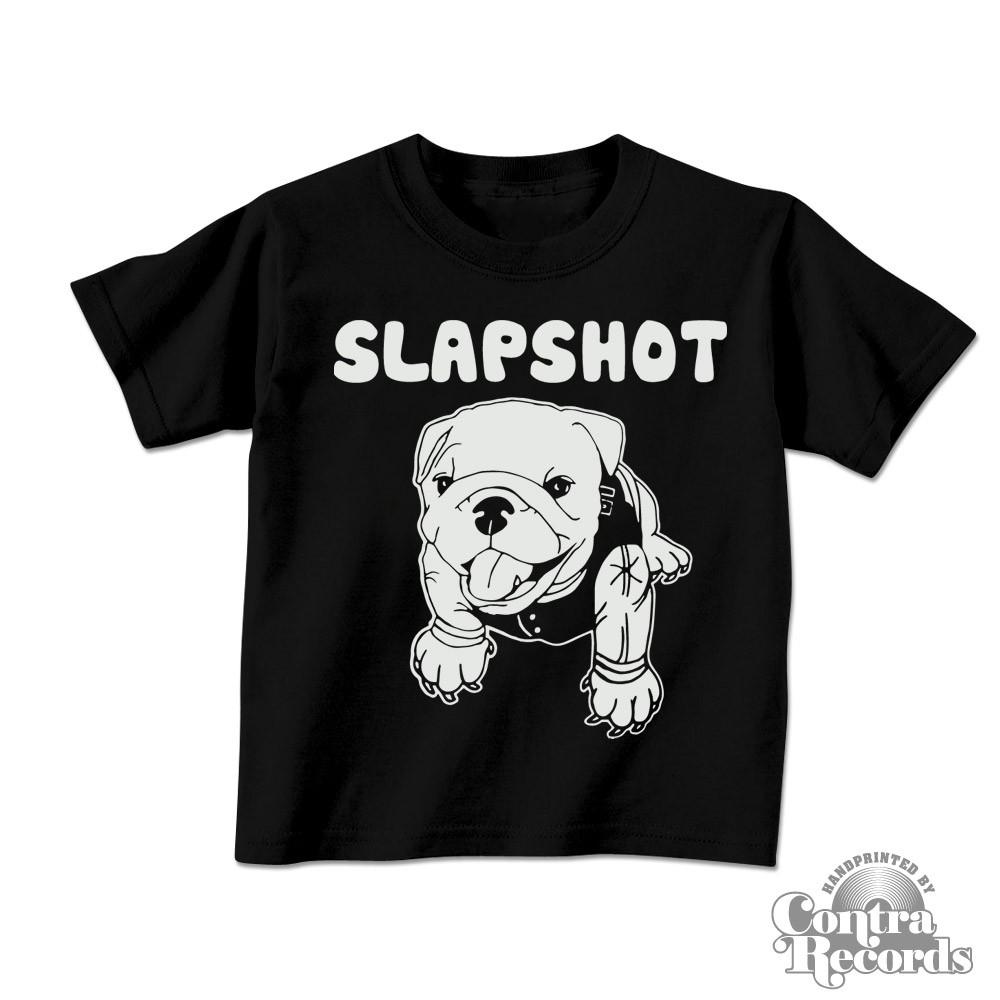 "Slapshot - ""puppy"" Kids Shirt black"