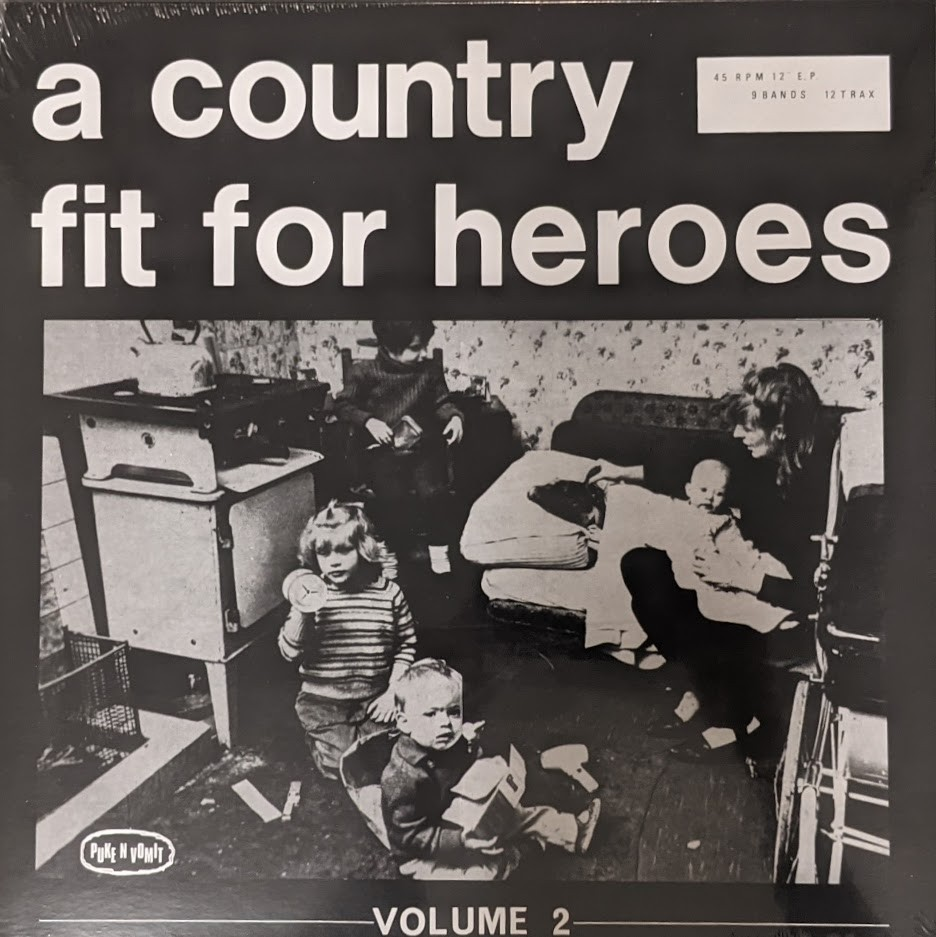 """V/A - A Country Fit For Heroes Volume Two 12""""LP+Poster lim. 300 black"""