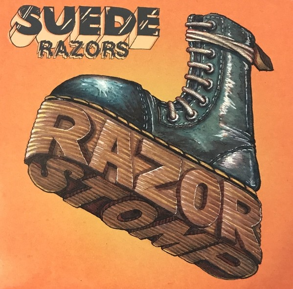 "Suede Razors ‎- Razor Stomp 12""LP lim.450 orange splatter"