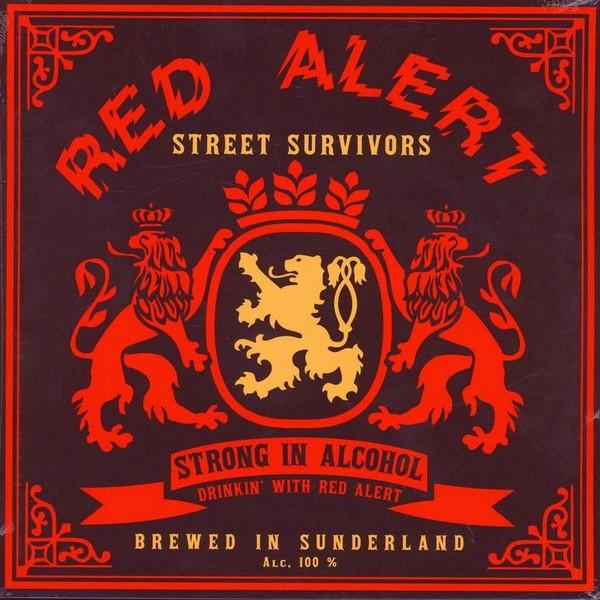 """Red Alert - Street Survivors 12""""LP version +3 bonustracks"""
