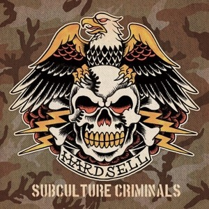 "Hardsell ‎– Subculture Criminals 12""LP lim. 200´swamp green"