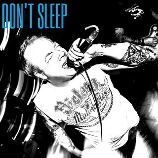 """Don't Sleep - s/t 12""""Single Sided etched-LP,Repress lim.100 purple"""