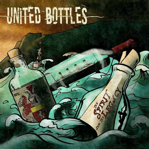 """United Bottles – The Spirit And The Legacy 12""""GF-LP (different colours)"""