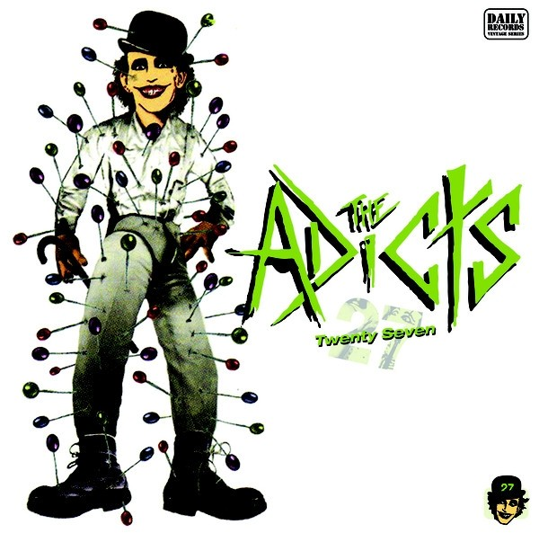 "ADICTS, THE - TWENTY-SEVEN 12""LP lim. 400 black"