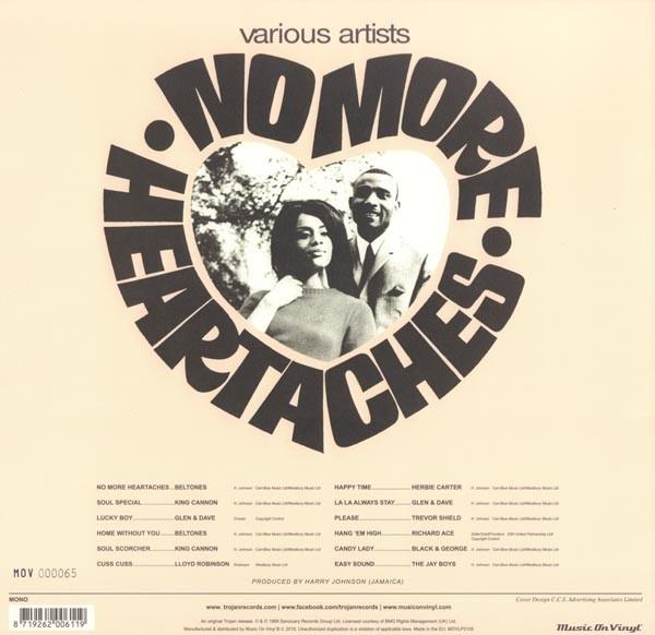 """V/A - No More Heartaches 12""""LP lim. orange 180g"""